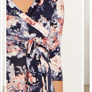Floral Maternity Dress - Size M worn once